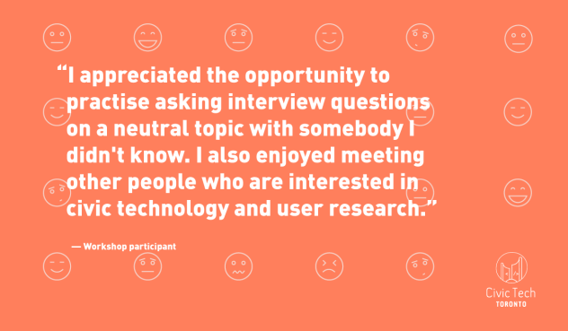 quote2 - Participant liked the opportunity to experience the user interview session