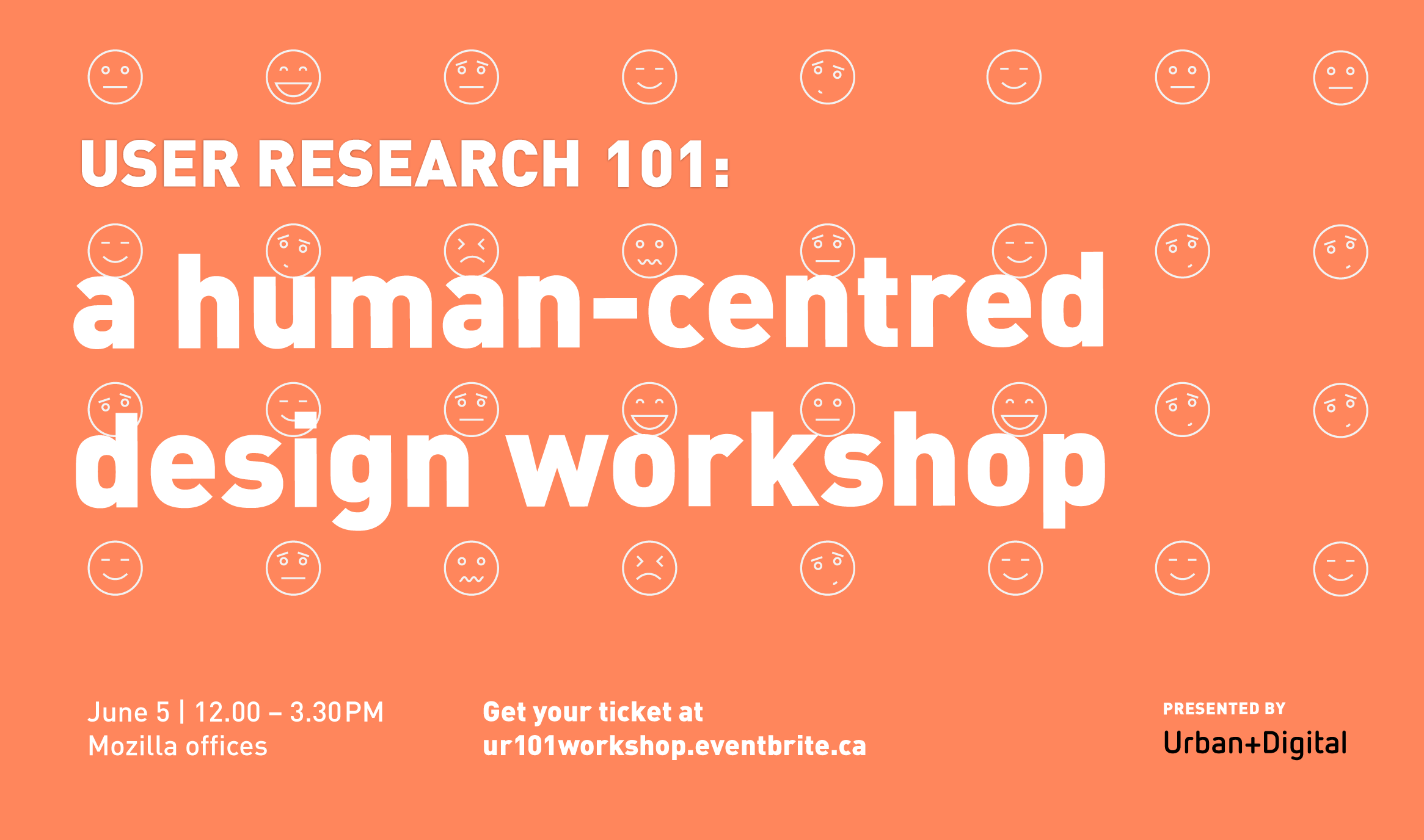 User Research 101: a human-centered design workshop