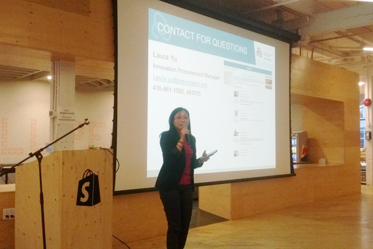 Hacknight  #84 – Laura Yu from Ontario Centres of Excellence