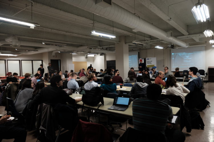 Hacknight #121 with Quayside Community Brainstorm
