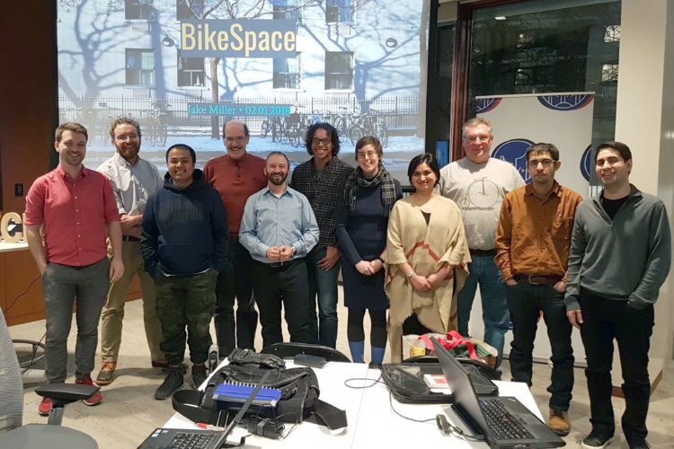 Hacknight #123 with BikeSpace Project