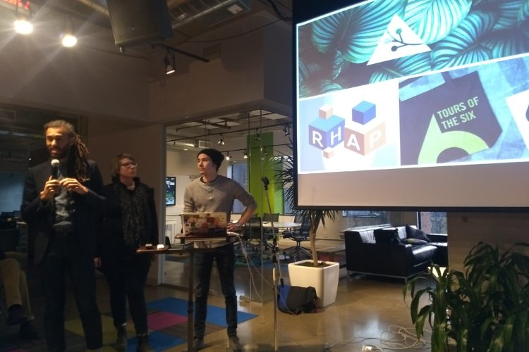 Hacknight #133 – with Lucas Declavasio, Monica Low & Andrew Patterson of Wysp Creative