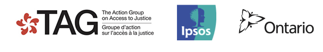 Innovation Partners: The Action Group on Access to Justice, Ipsos, Government of Ontario
