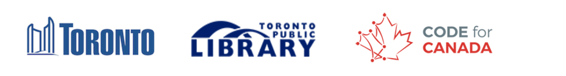 Presenting Partners: City of Toronto, Toronto Public Library, Code for Canada