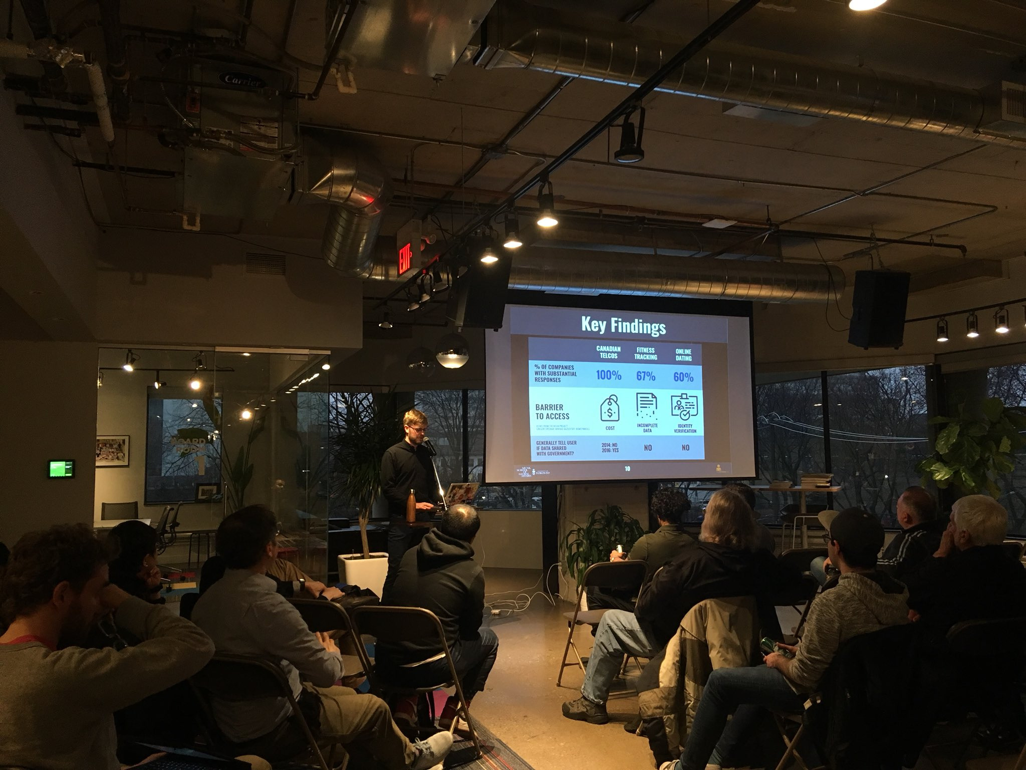 Hacknight #135 – with Andrew Hilts from Citizen Lab