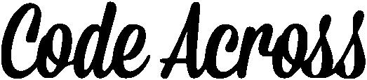 Code Across logo